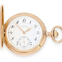 A. Lange & Söhne Pocket watch: large, pink golden hunting...