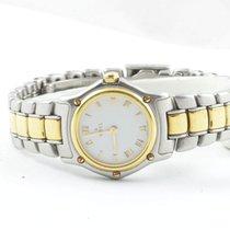 Ebel Damen Uhr Stahl/750 Gold 25mm Sport Classique Top Zustand...