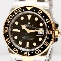 Rolex GMT Master II 116713LN Keramik Stahl Gold Papiere 2011