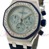 Audemars Piguet Royal Oak Offshore Ladies Chronograph, Blue...