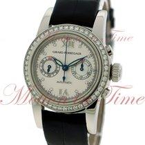 Girard Perregaux Ladies Small Chronograph, Silver Dial,...
