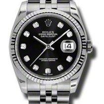 Rolex 116234 Black Diamond dial