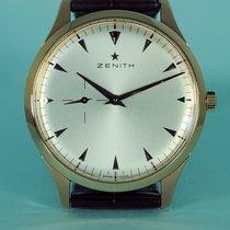 Zenith Heritage Ultra Thin 40 mm Gold Kroko -NEU-