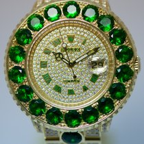Rolex Yachtmaster Diamantbesatz UNIKAT
