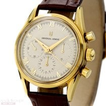 Universal Genève Compax Ref-184440 18k Yellow Gold Bj-1988
