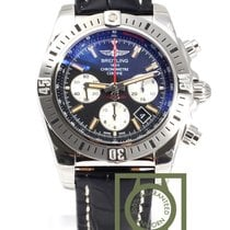 Breitling Chronomat 44 Airborne Chronograph Crocodile Strap NEW