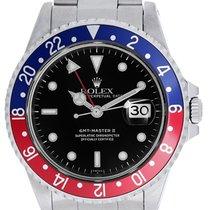 Ρολεξ (Rolex) GMT-Master II Stainless Steel Red/Blue Pepsi...