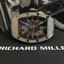 理查德•米勒 (Richard Mille) RM037 White Gold Full diamond with...