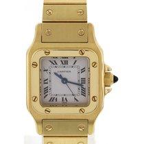 Cartier Santos Automatic 18K Yellow Gold