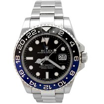 Rolex Pre-owned 40mm Rolex Stainless Steel GMT-Master II...