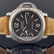 Panerai Luminor Marina PAM 61 Titanium 44mm Hand Wound Brown...