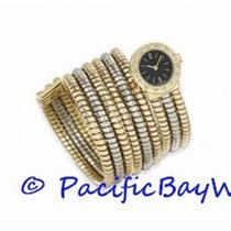 Bulgari Tubogas Tri Gold Ladies BB191T Pre-owned