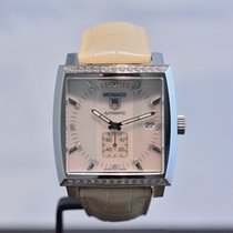 TAG Heuer Monaco Lady MOP Dial Automatic Diamonds