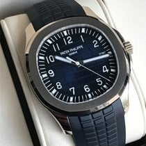 Patek Philippe Aquanaut 20th Anniversary white gold