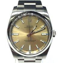 Ρολεξ (Rolex) Oyster Perpetual Gold Dial 34mm 114200