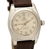Rolex Bubbleback 2940 Automatic Stainless 32mm Circa 1945 Watch