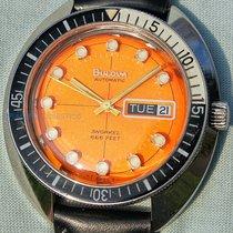 Bulova Snorkel Diver 666 Feet Sub Automatico Perfettamente...