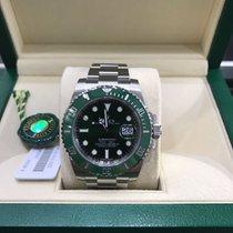 Rolex Submariner Stainless Steel Ceramic Green Dial 40mm Hulk
