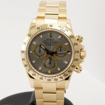 롤렉스 (Rolex) Daytona Chronograph in 18K yellow gold - full set...