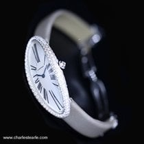 Cartier Baignoire Allongee White Gold & Diamond