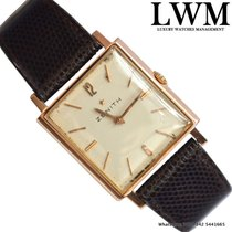 Zenith Square stellina rose gold 18KT Full Set 1964's