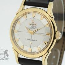 Omega Constellation Chronometer 2852 1958 Cal. 505 Pie Pan 18K