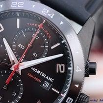 Montblanc TimeWalker Chronograph UTC 43mm Black Steel DLC on ...