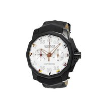 Corum A895/02944 Admirals Cup Leap Second in Black Titanium -...