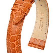 Hirsch Uhrenarmband Leder Aristocrat goldbraun 03828070-2-20 20mm