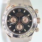 Rolex Daytona Cosmograph Rose Gold,Black Dial, Full Set