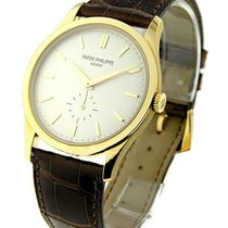 Patek Philippe 5196J Ref 5196J Calatrava in Yellow Gold - on...