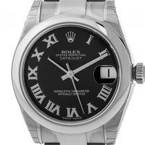 Rolex Datejust Medium Stahl Automatik Oyster Armband 31mm...