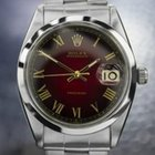 Rolex Oysterdate Precision 6694 Manual Stainless Steel Red...
