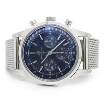 Breitling Transocean Chronograph Steel Automatic