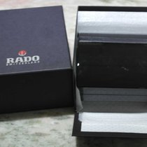 Rado kit complete big watch box booklet warranty card  never used