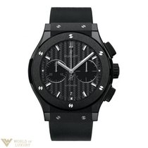 Hublot Classic Fusion 42mm Automatic Chronograph Black Magic...