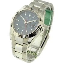 Rolex Used 116264_used_blue_stick Mens Steel TURN-O-GRAPH...
