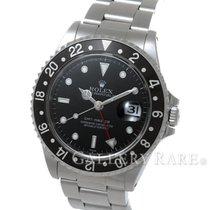 """롤렉스 (Rolex) GMT Master Black Bezel Steel 40MM """"A Series"""""""