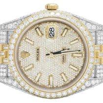 Rolex Mens Rolex Datejust II Jubilee 126333 18k/Steel 41 MM...