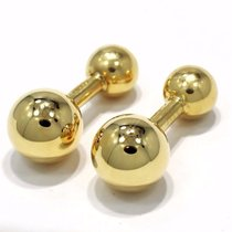 Cartier Cufflinks 18k Yellow Gold Rare Estate Jewelry mint...