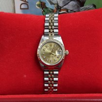 Rolex Ladies  69173 Datejust 18K Yellow Gold & Steel ...