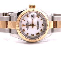 Rolex Ladies New Style 179173 Datejust - White Roman Dial -...
