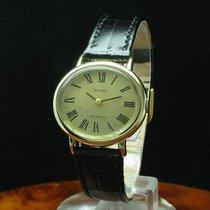 Huber 14kt 585 Gold Gelbgold Handaufzug Damenuhr / Kaliber Eta...