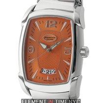 Parmigiani Fleurier Kalpa Grande Stainless Steel Orange Dial...