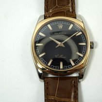 Rolex XL Cellini white & rose gold w/tag,card,book, &...