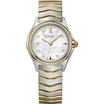 Ebel Wave Lady Stahl/Gold Brillant Quarz NEW