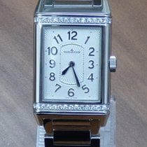 Jaeger-LeCoultre Grande Reverso Lady Ultra Thin Stahl Diamanten