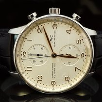 IWC 2003 IWC Portugieser Chronograph, Box & Papers