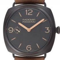 Panerai Radiomir 3 Days Composite Keramik Black Handaufzug...