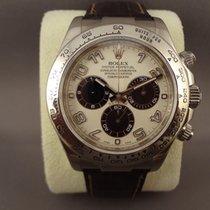 Rolex Daytona white gold 116519 Panda Dial / LC100